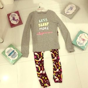 Other - Pjs girls size 10/12 cute✨✨🎀💜💖✨✨